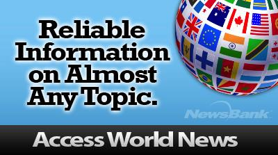 Find reliable information on any topic: Access World News